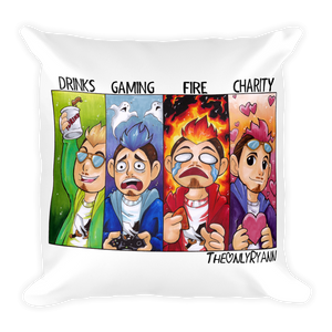 TheOnlyRyann Square Pillow