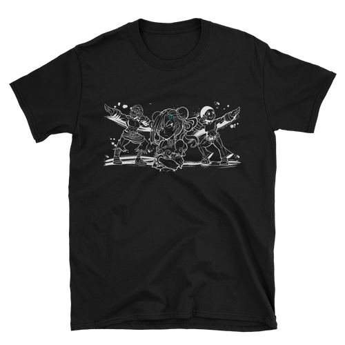 Shadaloo Black Tee