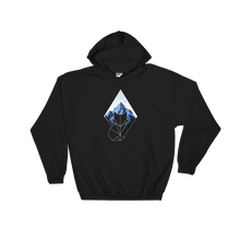 Diamond Fox Outline Hoodie