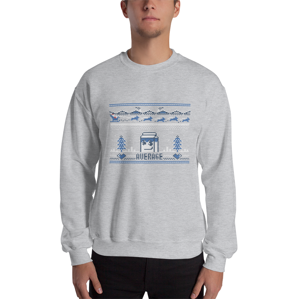 AverageMark Holiday Sweatshirt