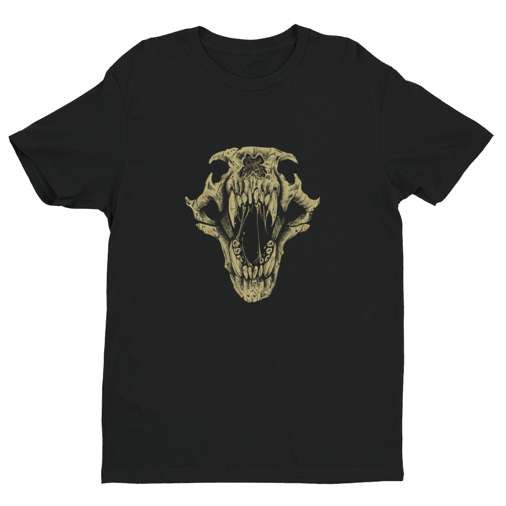 BigE Bear Skull Illustration Premium Tee