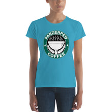 PanzerPaw Coffee Ladies Tee