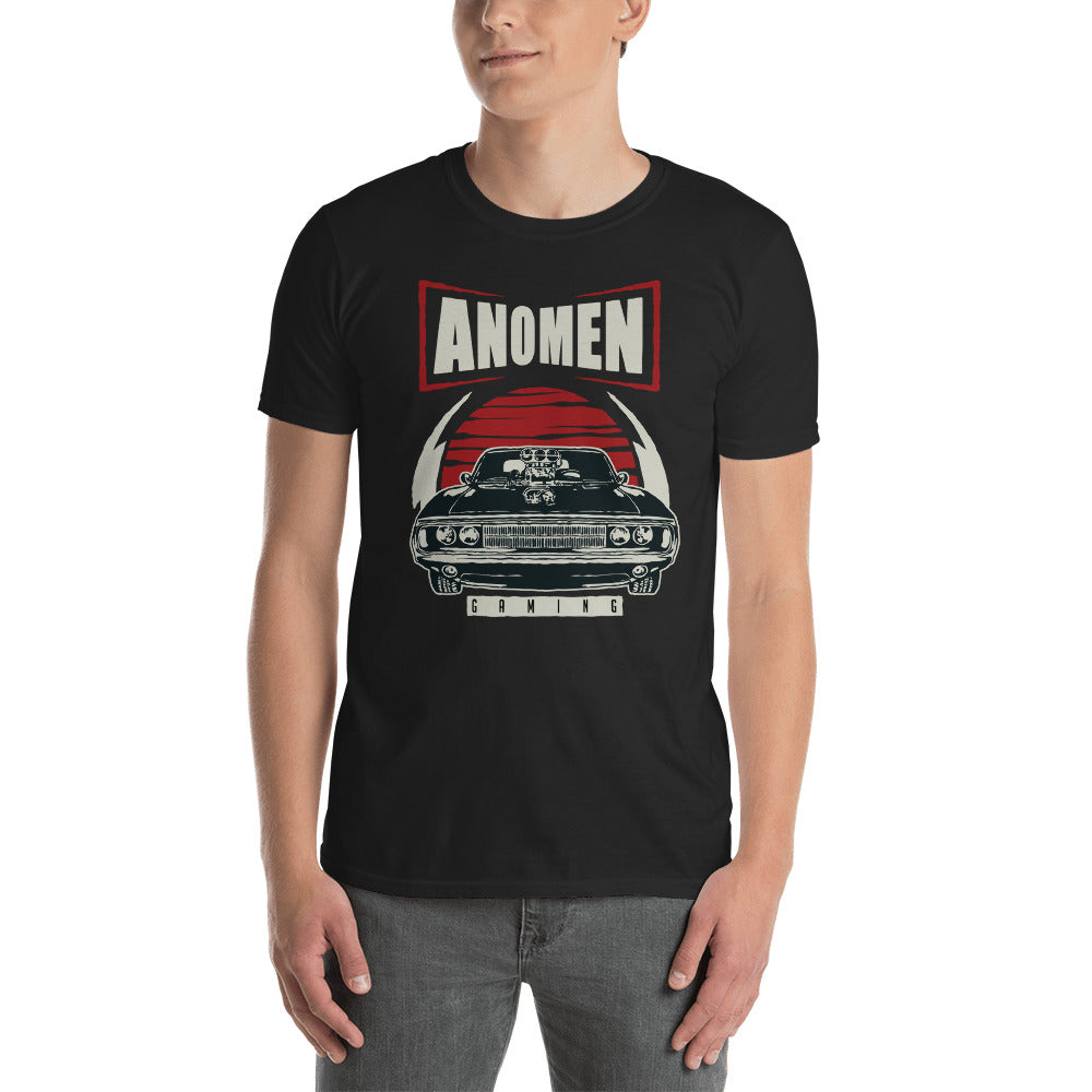 Muscle Car Basic Black Tee
