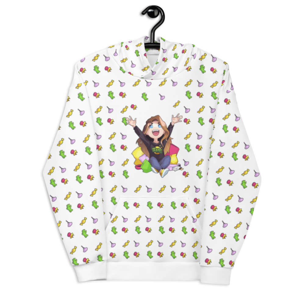 Candy All-Over Hoodie - Sunny