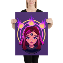 Load image into Gallery viewer, Reodora Poster - Purple by Aiden