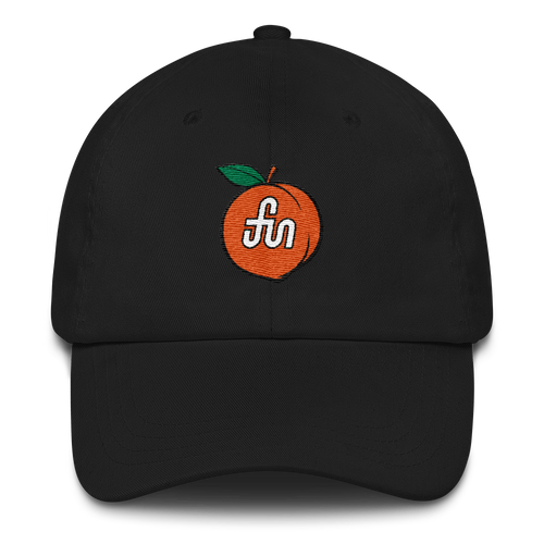 Fun Peach Dad Hat