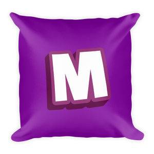 The M Pillow