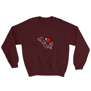 Heart Hand Sweatshirt
