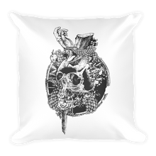 Serpent Skull Pillow