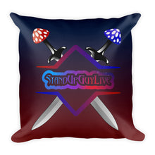 StandUpGuyLive Swords Pillow
