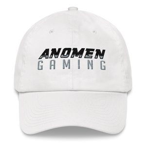 Anomen Gaming White Dad Hat