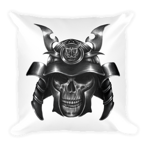Samurai Skull Pillow