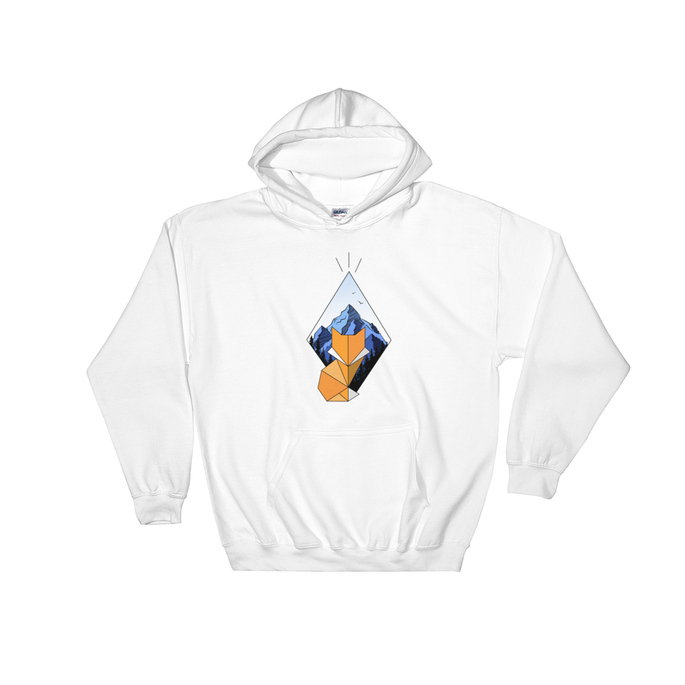 Diamond Fox Color Hoodie