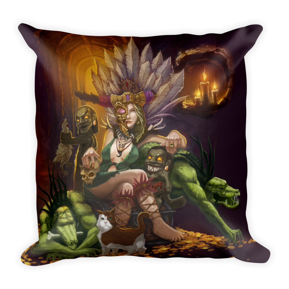 Witch Doctor Pillow