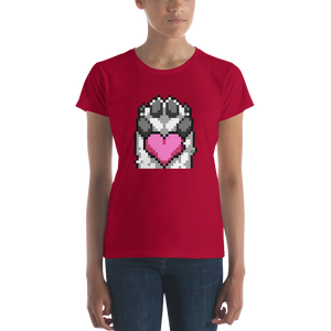 PanzerPaw Heart Ladies Tee