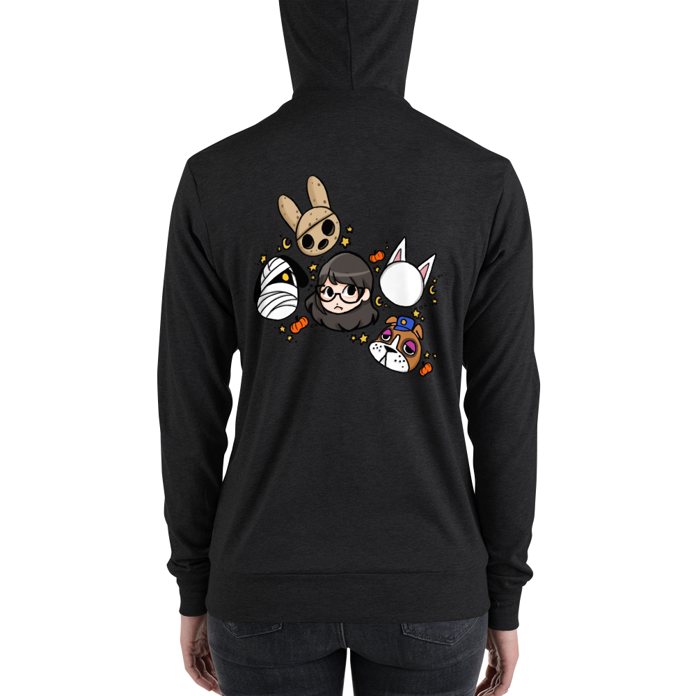 Animal Spoop Light Full-Zip Hoodie