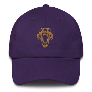 BigE Lion Skull Dad Hat