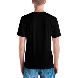 Mountain Fox All-over Black Tee
