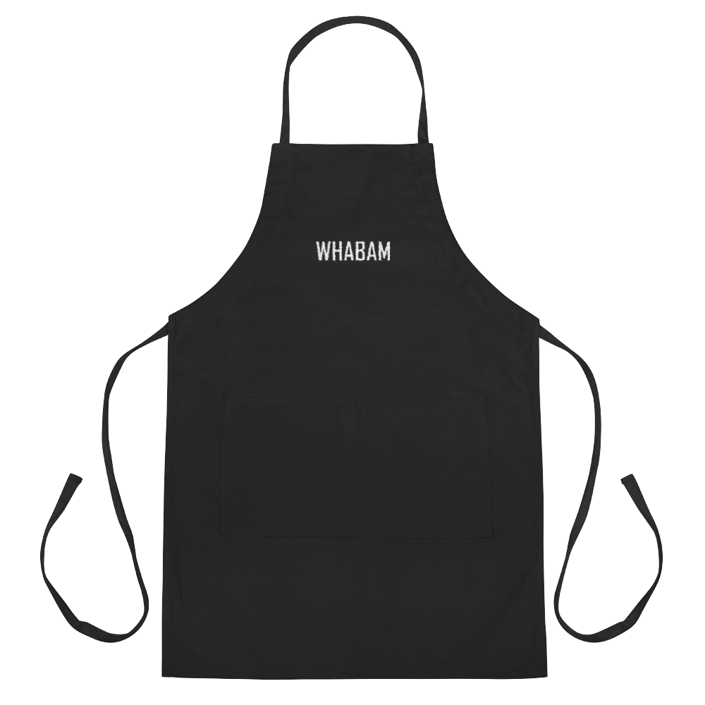 WHABAM Embroidered Apron