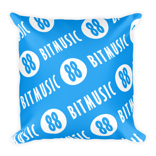 88bitmusic Logo Pillow