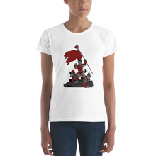 Load image into Gallery viewer, PanzerPaw Call to Arms Ladies Tee