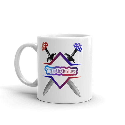 StandUpGuyLive Swords Mug