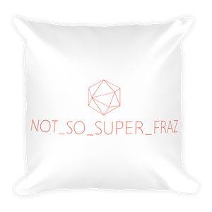 Fraz Logo Pillow