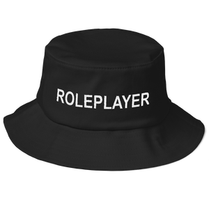 Roleplayer Black Boonie Hat