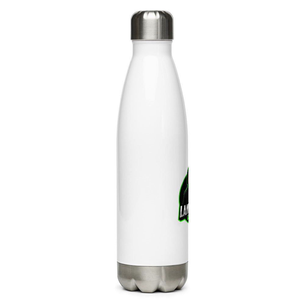 Land Bass Gaming Stainless Steel Water Bottle