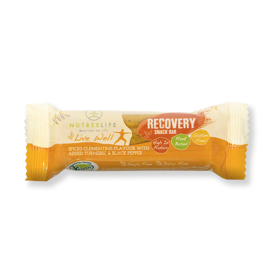 Clementine & Turmeric Recovery Bars