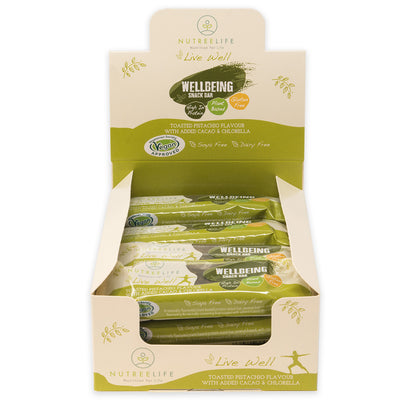 Pistachio Chlorella Superfood protein snack bar