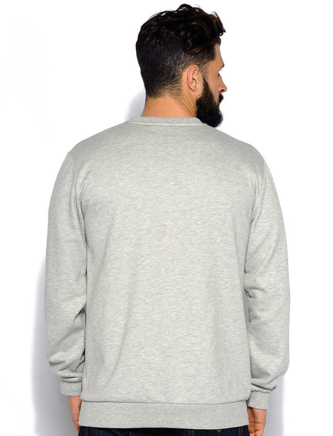 King Crew Neck Sweatshirt Grey