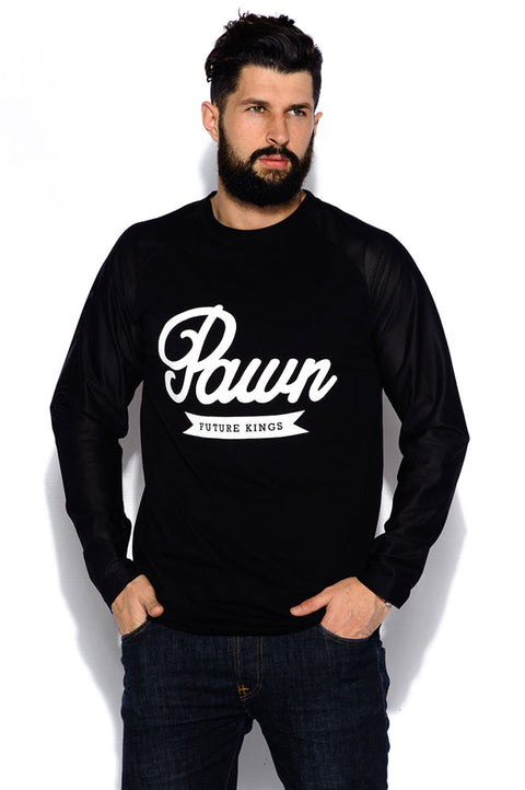Raglan Runner Black Mesh