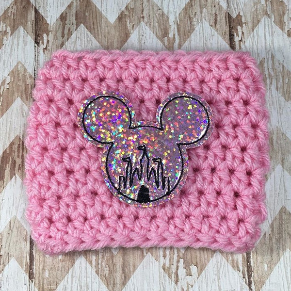 Limited Edition - Pink Sparkly Mouse Castle