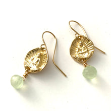 Little Buddha earrings 14k