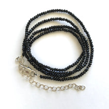 Black Spinal wrap bracelet & necklace