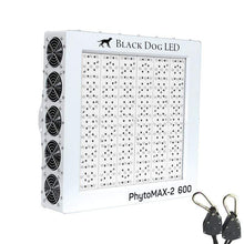 Load image into Gallery viewer, Black Dog LED Grow Lights Black Dog LED PhytoMAX-2 600 LED Grow Lights