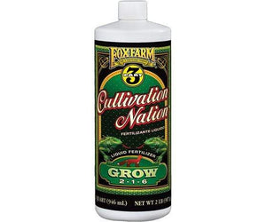 Fox Farm Nutrients 1 Quart Fox Farm Cultivation Nation Grow