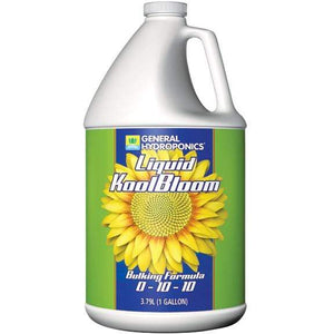 General Hydroponics Nutrients 1 Gallon General Hydroponics Liquid Koolbloom