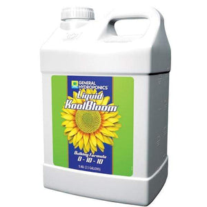 General Hydroponics Nutrients 2.5 Gallon General Hydroponics Liquid Koolbloom