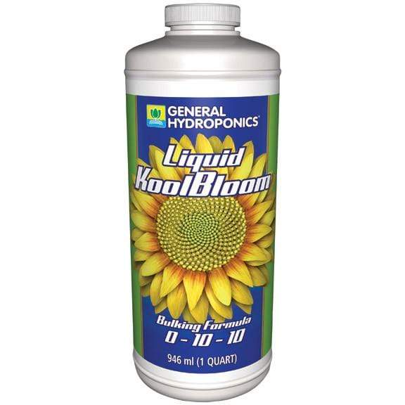 General Hydroponics Nutrients Quart (32 oz) General Hydroponics Liquid Koolbloom