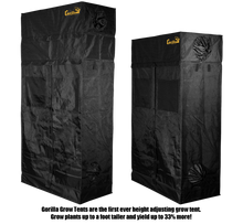 Load image into Gallery viewer, Gorilla Grow Tent Grow Tents Gorilla Grow Tent 2' x 4' Heavy Duty Grow Tent