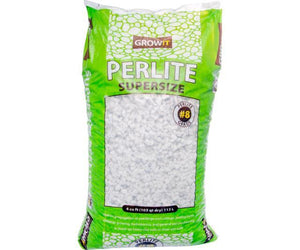 GROW!T Soils & Containers 4 Cubic Feet Bag GROW!T #8 Perlite, Super Coarse, 4 Cubic Feet