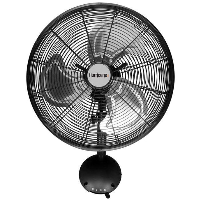 Hurricane Climate Control Hurricane Pro High Velocity Oscillating Wall Mount Fan