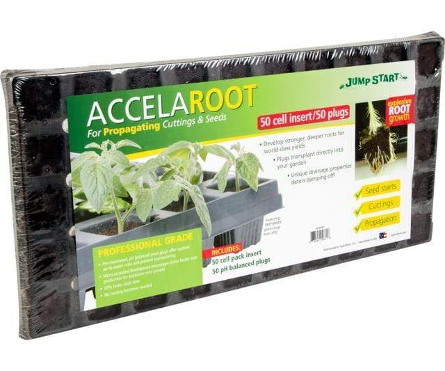 Jump Start Germination Jump Start AccelaROOT 50-Cell Insert and Starter Plugs (no tray)