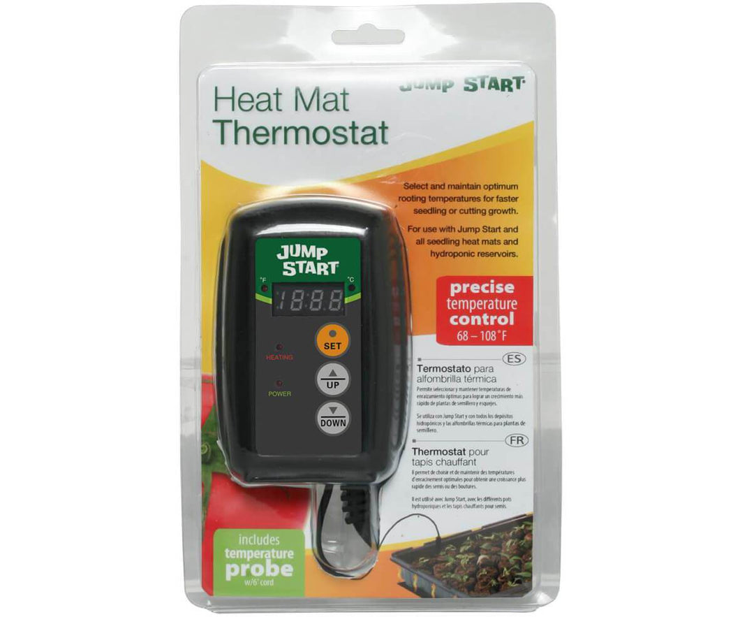 Jump Start Germination Jump Start Digital Temperature Controller for Heat Mat