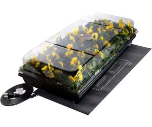 "Jump Start Germination Jump Start Germination Station w/Heat Mat, Tray, 72-Cell Pack, 2"" Dome"