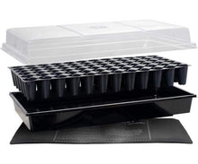 "Load image into Gallery viewer, Jump Start Germination Jump Start Germination Station w/Heat Mat, Tray, 72-Cell Pack, 2"" Dome"