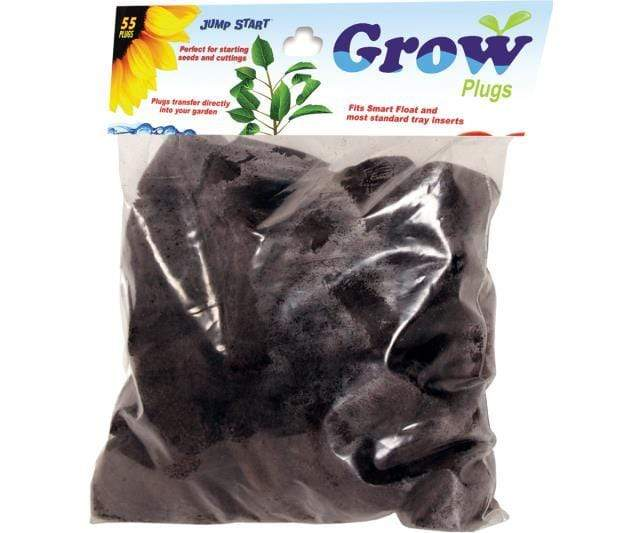 Jump Start Germination Jump Start Smart Float Grow Tray Refill Plugs, bag of 55