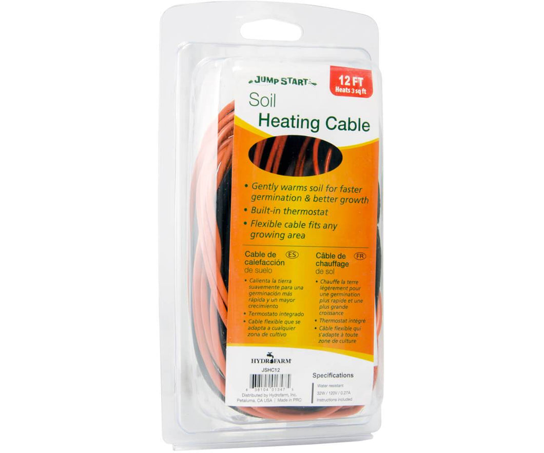 Jump Start Germination Jump Start Soil Heating Cable, 12'